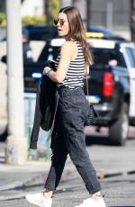 JESSICA BIEL Out for Lunch in Los Angeles 11/12/2019