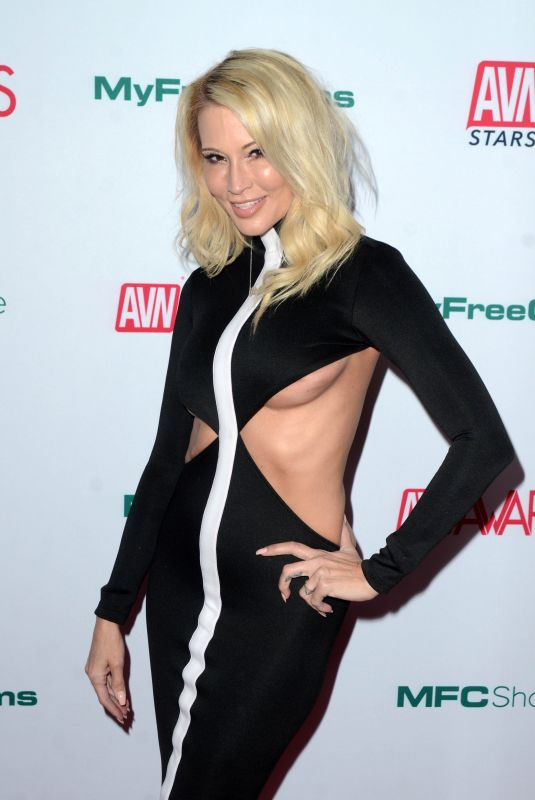 JESSICA DRAKE at Aadult Video News Awards Nominations in Hollywood 11/21/2019