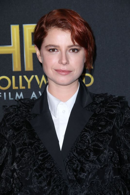 JESSIE BUCKLEY at Hollywood Film Awards in Beverly Hills 11/03/2019