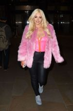 JODIE WESTON Arrives at The Skinny Tan: Choc Range Launch Party in London 11/19/2019