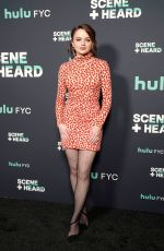 JOEY KING at Hulu Scene and Heard Sag Event in Los Angeles 11/13/2019