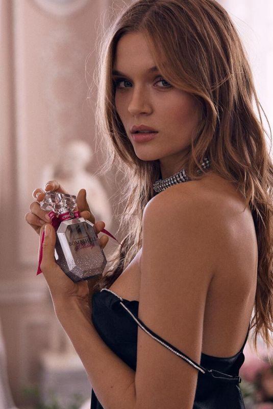 JOSEPHINE SKRIVER for Victoria's Secret Beauty Bombshell Eau de Parfum, November 2019