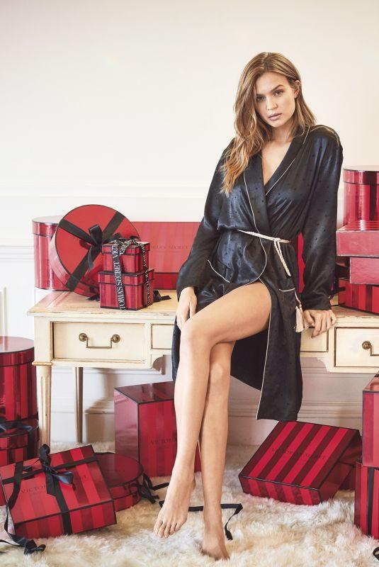 JOSEPHINE SKRIVER for Victoria's Secret Holiday Gift Guide 2019