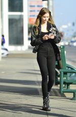 JOSEPHINE SKRIVER Out Shopping in Los Angeles 11/08/2019