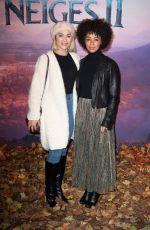 JOY ESTHER at Frozen 2 Premeire in Paris 11/13/2019