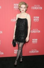 JULIA GARNER at 4th Annual Patron of the Artists Awards in Beverly Hills 11/07/2019