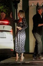 JULIANNE HOUGH at San Vicente Bungalows in West Hollywood 11/22/2019