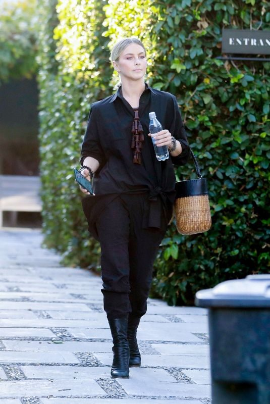 JULIANNE HOUGH Leaves Her Office in West Hollywood 11/06/2019