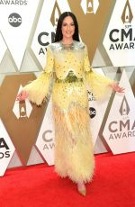 KACEY MUSGRAVES at 2019 CMA Awards in Nashville 11/13/2019