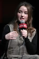 KAITLYN DEVER at Sag-aftra Foundation Conversations: Unbelievable in New York 11/10/2019