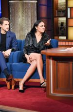 KAREN OLIVO at Late Show with Stephen Colbert 11/15/2019