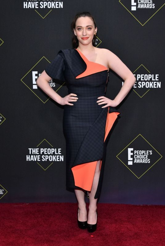 KAT DENNINGS at People's Choice Awards 2019 in Santa Monica 11/10/2019