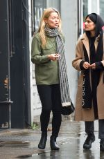KATE MOSS Out and About in Notting Hil 11/27/2019