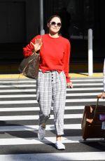 KATHARINE MCPHEE at LAX Airport in Los Angeles 11/09/2019