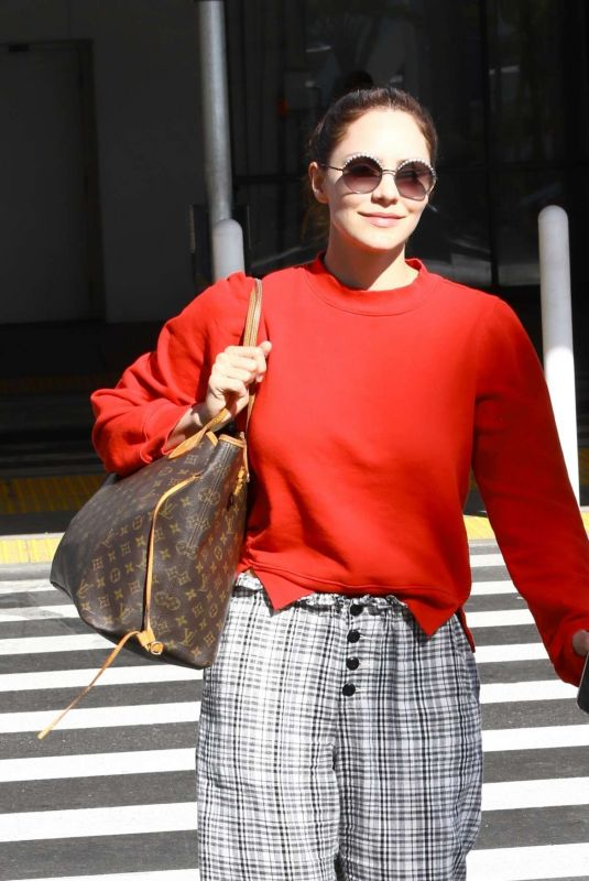 KATHARINE MCPHEE at LAX Airport in Los Angeles 11/09/2019