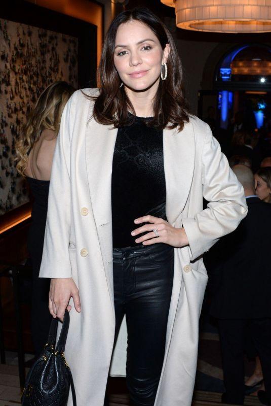 KATHARINE MCPHEE at Prostate Cancer Foundation Dinner in New York 11/19/2019