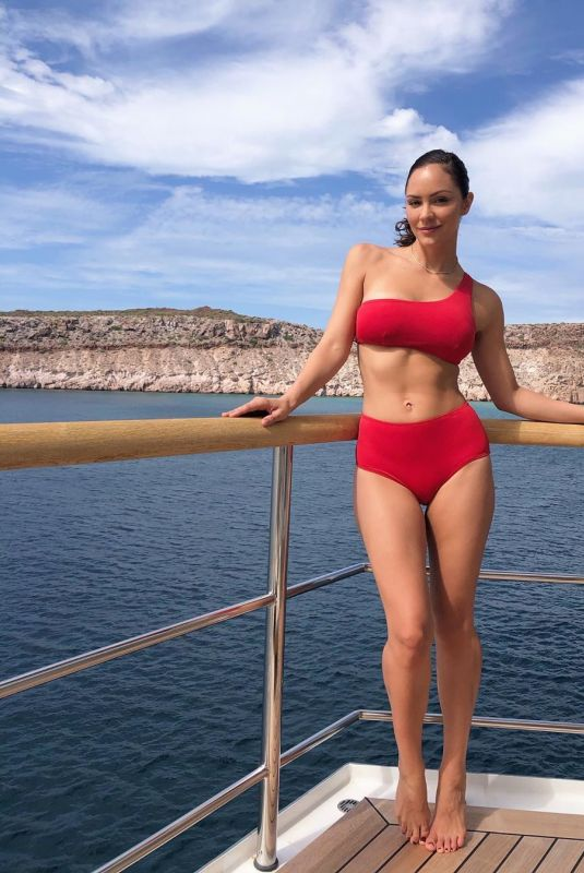 KATHARINE MCPHEE in Bikini on Vacation in Mexico, November 2019 Instagram Photos