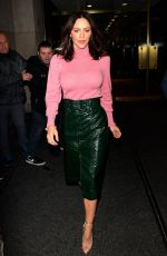 KATHARINE MCPHEE Leaves Today Show in New York 11/19/2019