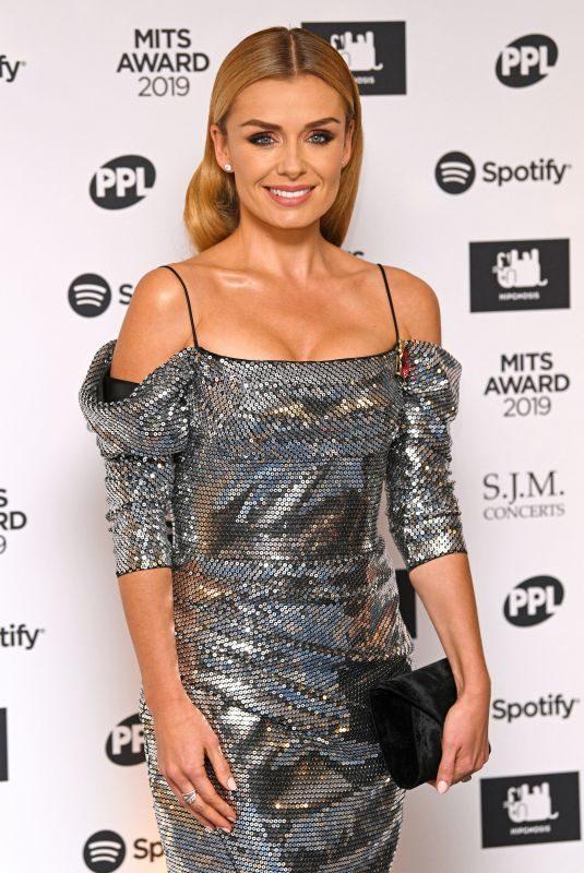 KATHERINE JENKINS at Music Industry Trusts Award in London 11/04/2019