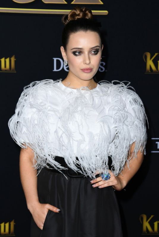 KATHERINE LANGFORD at Knives Out Premiere in Westwood 11/14/2019