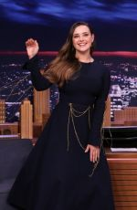 KATHERINE LANGFORD at Tonight Show Starring Jimmy Fallon 11/26/2019