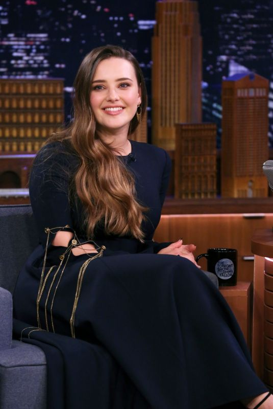KATHERINE LANGFORD at Tonight Show Starring Jimmy Fallon 11/26/2019