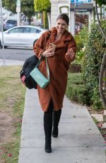 KATHERINE SCHWZRZENEGGER Leaves Leclaireur Los Angeles Furniture Store in West Hollywood 11/05/2019