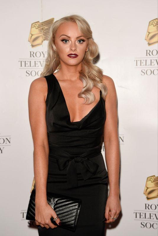 KATIE MCGLYNN at RTS Awards in Manchester 11/23/2019