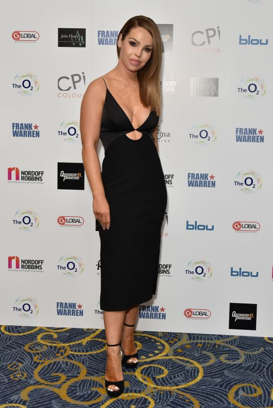 KATIE PIPER at Nordoff Robbins Boxing Dinner in London 11/18/2019