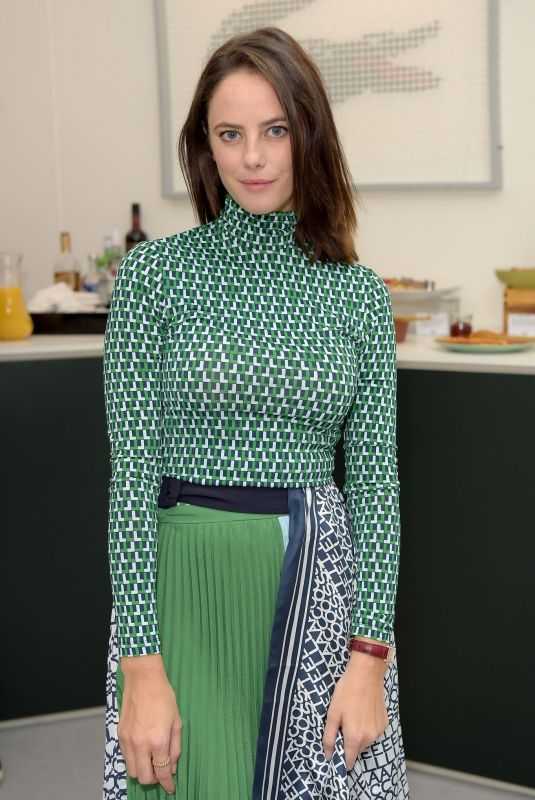 KAYA SCODELARIO at Lacoste VIP Lounge at 2019 ATP World Tour Tennis Finals in London 11/16/2019