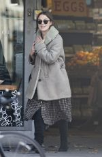 KEIRA KNIGHTLEY Out Shopping in London 10/31/2019