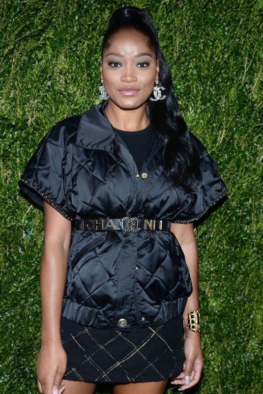 KEKE PALMER at Through Her Lens: Tribeca Chanel Women's Filmmaker Program Luncheon in New York 11/04/2019