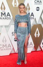 KELSEA BALLERINI at 2019 CMA Awards in Nashville 11/13/2019