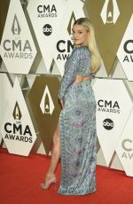 KELSEA BALLERINI at 2019 CMA Awards in Nashville 11/13/2019