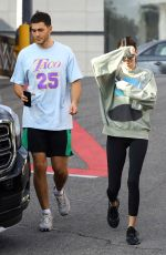 KENDALL JENNER and Fai Khadra Out in Los Angeles 11/14/2019