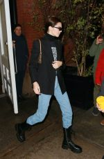 KENDALL JENNER Leaves Her Hotel in New York 11/17/2019