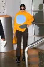 KENDALL JENNER Leaves Pier59 Studios in New York 11/18/2019