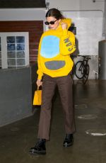 KENDALL JENNER Leaves Pier59 Studios in New York 11/18/2019