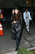 KENDALL JENNER Night Out in New York 11/22/2019