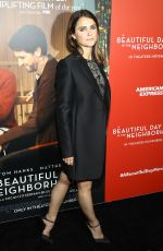 KERI RUSSELL at A Beautiful Day in the Neighborhood Screening in New York 11/17/2019