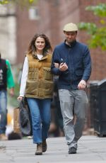 KERI RUSSELL Out in Brooklyn 11/07/2019