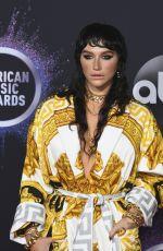 KESHA SEBERT at 2019 America Music Awards in Los Angeles 11/24/2019