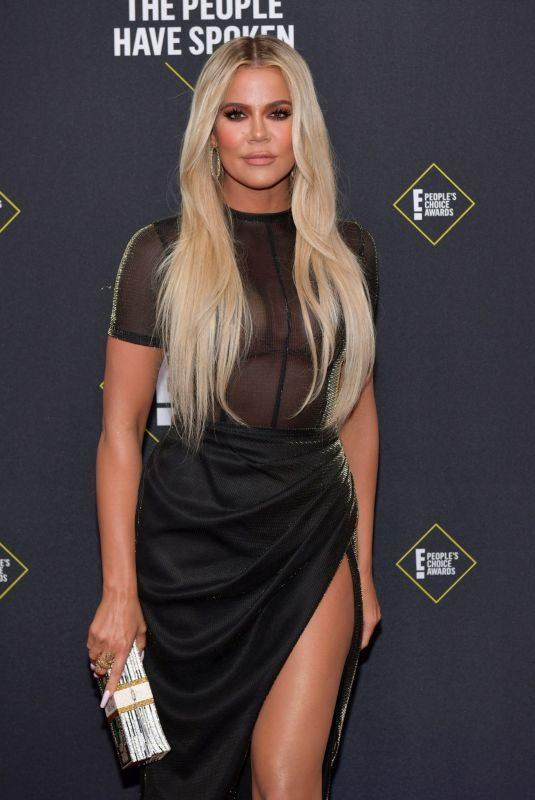 KHLOE KARDASHIAN at People's Choice Awards 2019 in Santa Monica 11/10/2019
