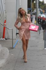 KHLOE TERAE Leaves Barbie Blank Launch Event in West Hollywood 11/19/2019