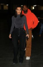 KIM KARDASHIAN and Kanye West Night Out in Houston 11/16/2019