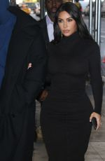 KIM KARDASHIAN and Kanye West Out in New York 11/06/2019
