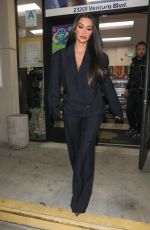 KIM KARDASHIAN at a Shell Gas Station in Westwood 11/19/2019