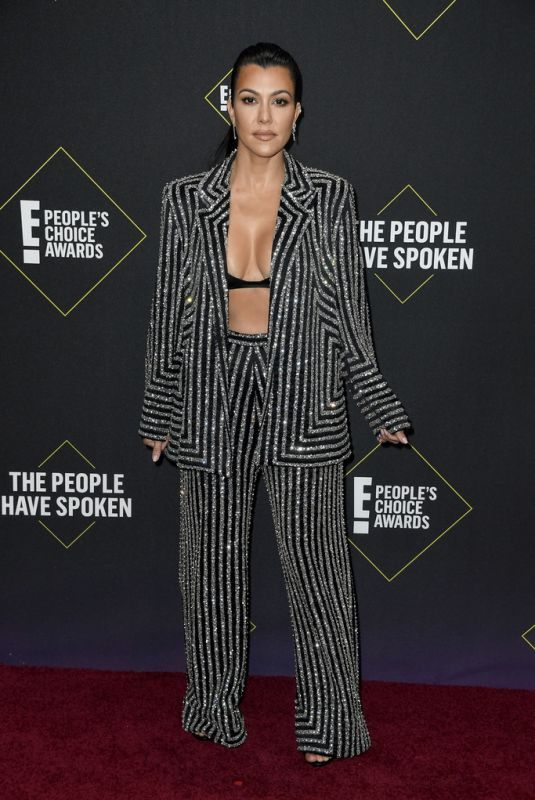 KOURTNEY KARDASHIAN at People's Choice Awards 2019 in Santa Monica 11/10/2019