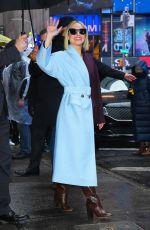 KRISTEN BELL Arrives at Good Morning America in New York 11/12/2019