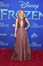KRISTEN BELL at Ffrozen 2 Premiere in Hollywood 11/07/2019